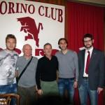 """Il Toro club """"Roero granata"""" fa festa con Immobile e Moretti"""