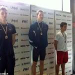 Nuoto, il cortemiliese Matteo Senòr medaglia d'argento ai Criteria nazionali di Riccione