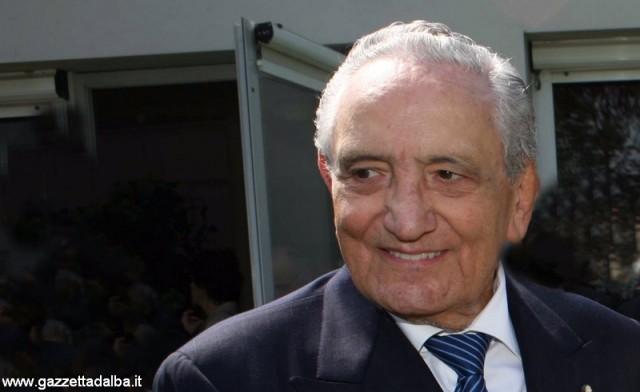 Michele Ferrero, in uno scatto d'archivio.