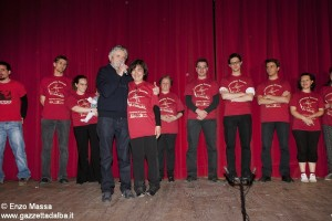 Premio Beppe Occhetto Stefania Borgogno e i volontari