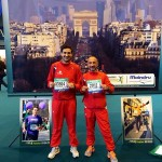 Due braidesi alla Maratona di Parigi