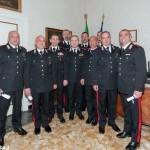 Encomi per nove carabinieri di Alba