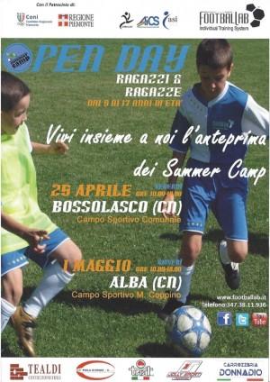 locandina camp accademia calcio alba