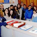 Il gruppo giovani del Sacro Cuore di Trapani in pellegrinaggio a Narzole per il beato Giaccardo
