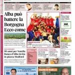 ANTEPRIMA. La copertina di Gazzetta d'Alba in edicola da martedì 13 maggio 2014