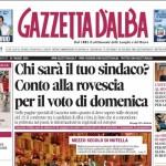 ANTEPRIMA. La copertina di Gazzetta d'Alba in edicola da martedì 20 maggio 2014