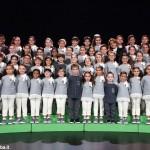 Il coro dello Zecchino d'Oro a Saluzzo