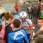 Giro d'Italia, anche a Oropa l'affetto dei tifosi per Diego Rosa