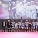 Giro d'Italia, Diego Rosa al lavoro per la squadra
