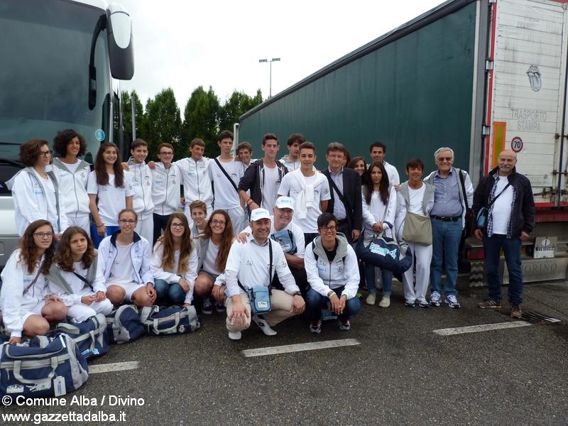 Olimpiadi Bergama_partenza1