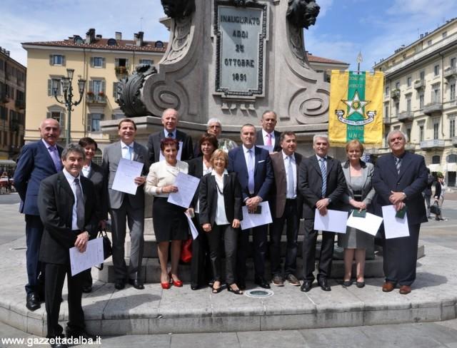 I nuovi maestri del lavoro, premiati il 1° maggio a Torino.