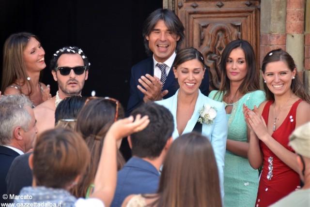 Belen con Fabio Troiano e alcune comparse, tra le quali Flavio Paglieri, di fronte a San Domenico
