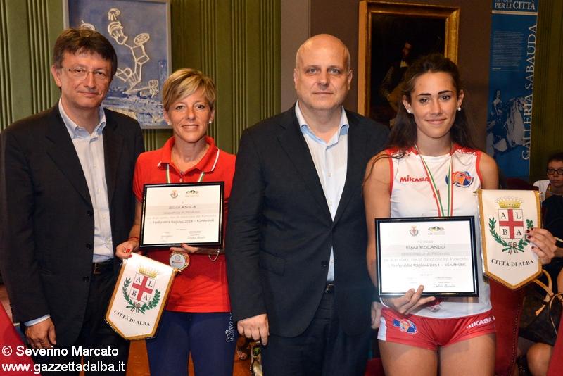 Da sinistra: Claudio Tibaldi, Silvia Asola, Maurizio Marello, Elena Rolando