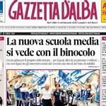 ANTEPRIMA. La copertina di Gazzetta d'Alba del 15 luglio 2014