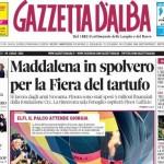 ANTEPRIMA. La copertina di Gazzetta d'Alba del 29 luglio 2014