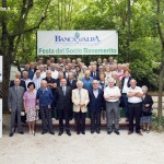 Banca d'Alba, Festa del socio benemerito a Verduno