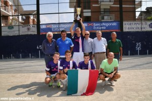 Juniores - Canalese prima classificata