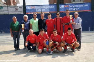 Juniores - Peveragno seconda classificata