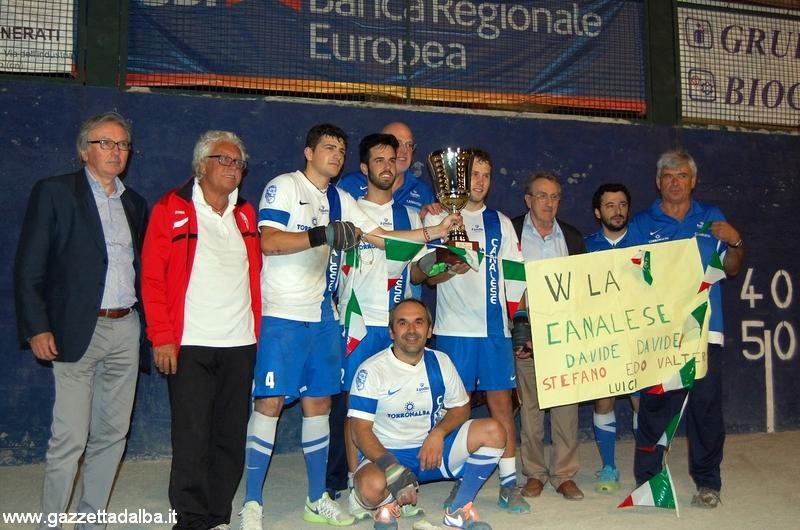 Serie B – Canalese prima classificata
