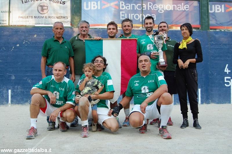 Serie C2 – Speb prima classificata