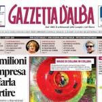 ANTEPRIMA. Le copertine di Gazzetta d'Alba del 5 agosto 2014
