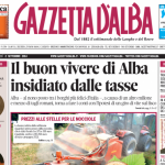 ANTEPRIMA. La copertina di Gazzetta d'Alba del 2 settembre 2014