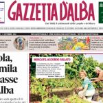 ANTEPRIMA. La copertina di Gazzetta d'Alba del 9 settembre 2014