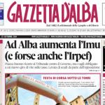 ANTEPRIMA. La copertina di Gazzetta d'Alba del 23 settembre 2014