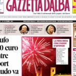 Le copertine di Gazzetta d'Alba del 30 settembre 2014