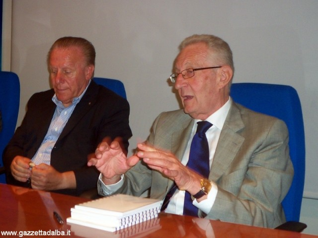 Da sinistra: Ferruccio Dardanello, Beppe Ghisolfi