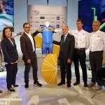 Ciclismo, la Nazionale di Nibali arriva a Bra
