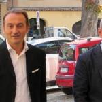 Alberto Cirio a Dogliani per parlare di finanziamenti europei