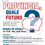 Quale futuro per la Provincia di Cuneo?