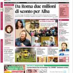 La copertina di Gazzetta d'Alba del 21 ottobre 2014