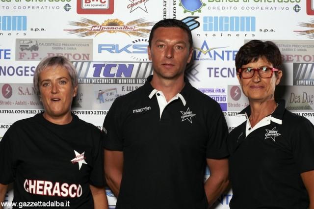 Da sinistra: Maria Teresa Peisino, Luciano Bo e Marita Squarotti.jpg