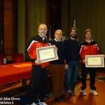 Alba: Sergio Destefanis e Giancarlo Rapalino, sbandieratori da 40 anni