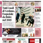La copertina di Gazzetta d'Alba dell'11 novembre 2014