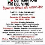 """Politica, domenica 23 novembre la """"Leopolda dei territori del vino"""""""