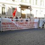 Cuneo, prosegue la mobilitazione dei dipendenti della Provincia