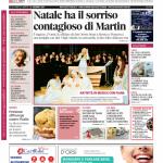 La copertina di Gazzetta d'Alba del 23 dicembre 2014