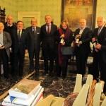 Alba, il Sindaco ha accolto i Cavalieri del tartufo e dei vini