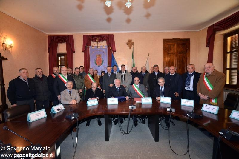 Gruppo autorità Monteu 1