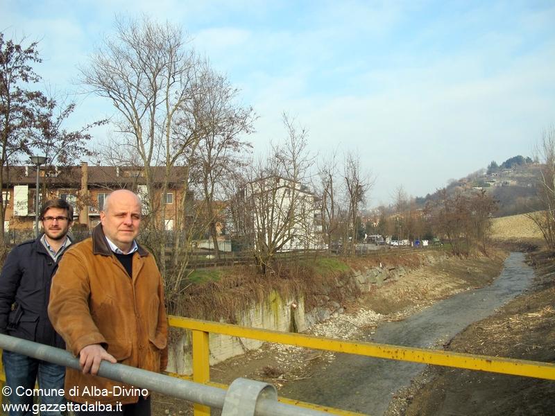 Pulizia torrente Cherasca