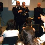 Il capitano dei Carabinieri in cattedra alle medie di Sommariva Bosco