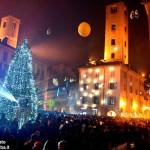 Alba, successo per la festa di Capodanno in piazza Duomo