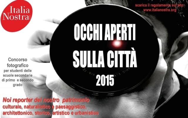 locandina concorso italia nostra