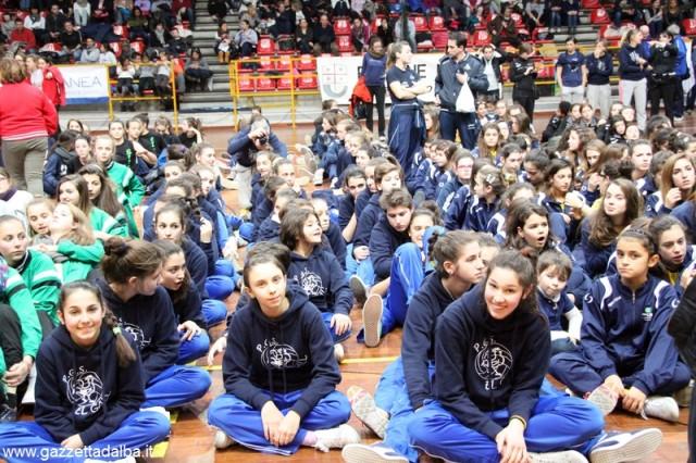 Le atlete dell'El Gall ad Alassio