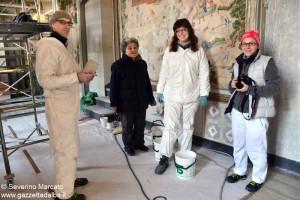 Da sx Stefano Zannonato-Marina Regni-Silvia Gayet-Natalia Baccichetto 2