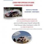 Automobilismo: ad Alba un corso gratuito per diventare commissari