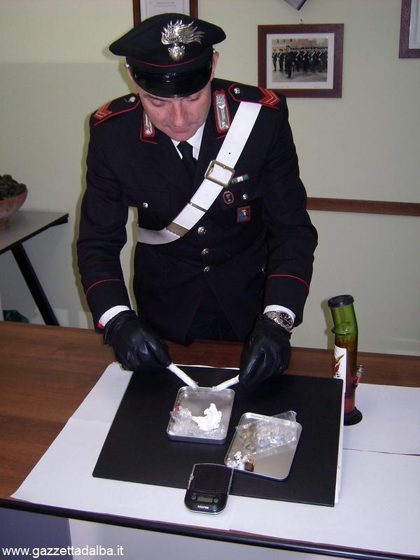 alba carabinieri marijuana